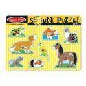 Puzzle dźwiękowe - Zwierzęta domowe