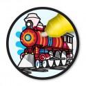 Kolorowanka wodna Pojazdy