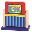 Drewniane mini kino z bajkami