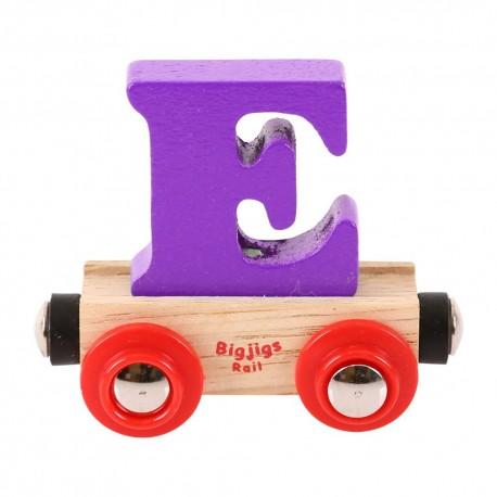 Wagonik literka E