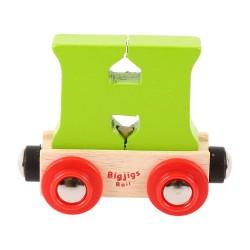Wagonik literka H