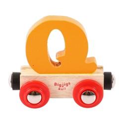 Wagonik literka Q