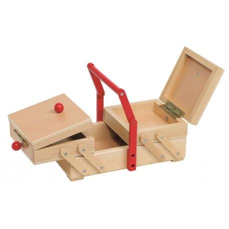 Niciarka - rozkładane pudełeczko na przybory