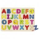 Goki Puzzle ABC układanka alfabet - duże litery