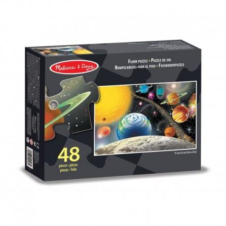 Puzzle podłogowe Układ Słoneczny 48el.