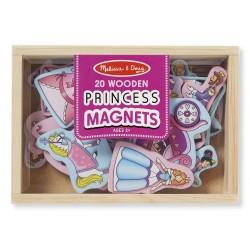 Magnesy na lodówkę Księżniczki 20szt.