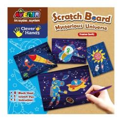 Zdrapka Scratch Art - kosmos