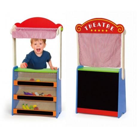 Teatr i sklep - 2 w 1