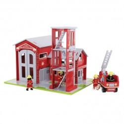 Straż pożarna Remiza - zestaw do zabawy