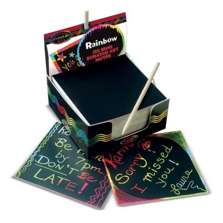 Zdrapka - zestaw karteczek do grawerowania ScratchArt