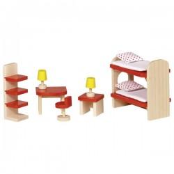 Drewniane mebelki do pokoju dziecięcego GOKI