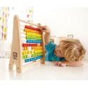 Liczydło drewniane HAPE kolorowe liczydło szkolne