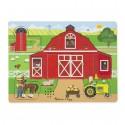 Puzzle dźwiękowe - Na farmie