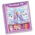 Scrapbook Zimowa Księżniczka - album kreatywny