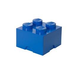Pojemnik w kształcie klocka LEGO 4 - niebieski