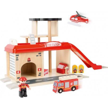 Straż pożarna zestaw z akcesoriami