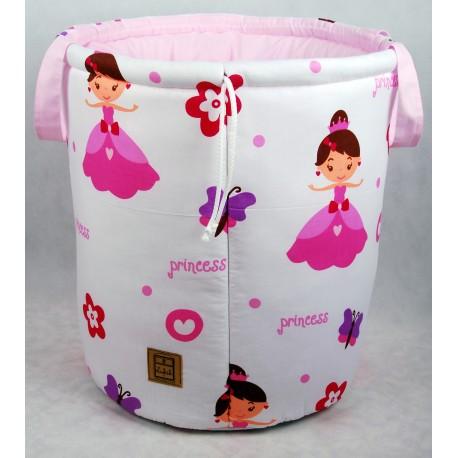 Kosz na zabawki pojemnik do przechowywania Princess