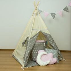 Namiot tipi dla dziecka Gwiazdkowa Natura - zestaw mini