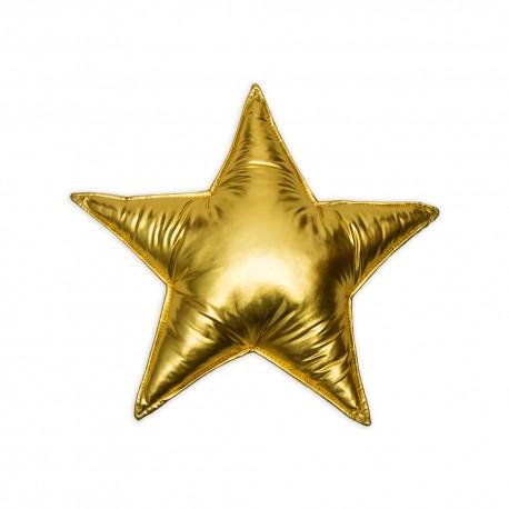 Poduszka gwiazdka - zlota