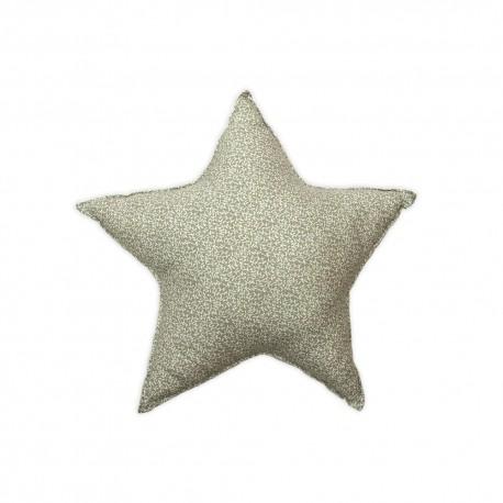 Poduszka gwiazdka - szara