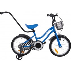 Rowerek BMX dla dziecka 16 cali - gwiazdka niebieski