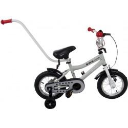 Rowerek BMX dla dziecka 12 cali - szary