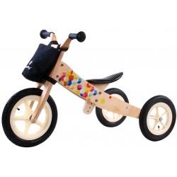 Rowerek biegowy dla dziecka Twist 2w1 pompowane koła - Cubic