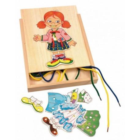 Sznurowanka do ubierania Monika w pudełku
