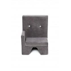 Fotelik dla dziecka Premium MISIOO - prawy - szary