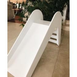 Zjeżdżalnia dla dziecka - biała