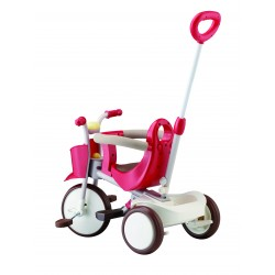 Rowerek trójkołowy IIMO - brązowy