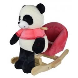 Panda na biegunach z różowym fotelikiem - nowa konstrukcja