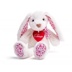 Maskotka króliczek Ella biała