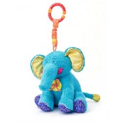 Zawieszka sensoryczna słonik Kaleo dla niemowląt