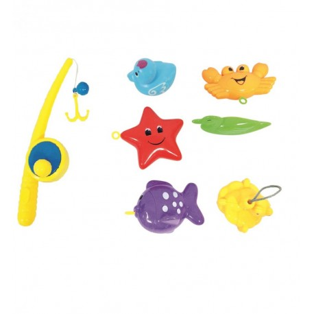 Zabawka do kąpieli złów rybkę