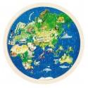 Puzzle dwustronne mapa Świata