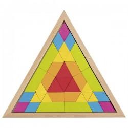 Układanka mozaika trójkąt