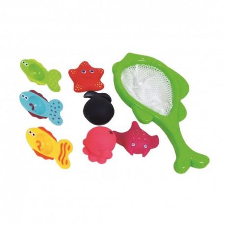 Zabawka do kąpieli siatka z rybkami