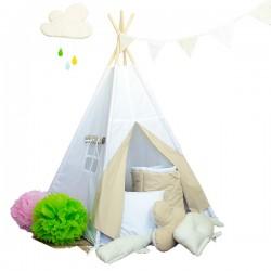 "Namiot tipi dla dziecka ""Pustynne safari"" - zestaw mini"