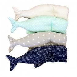 Poduszka wieloryb Marynarski sen duża