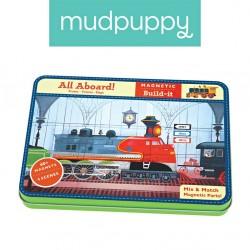 Magnetyczne konstrukcje Pociągi Mudpuppy