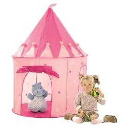 Różowy namiot zamek księżniczki