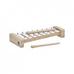 Drewniane cymbałki - białe