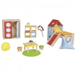 Mebelki dla lalek Premium Pokój Dziecka