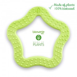 Bioserie Teether Star Lime gryzak sensoryczny