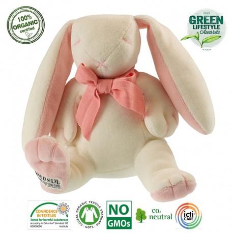 Maud N Lil Rose the Bunny Soft Organiczny Mięciutki Przyjaciel