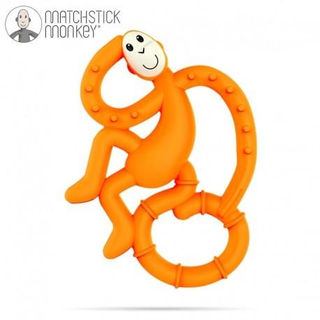 Matchstick Mini Monkey Orange Gryzak Masujący