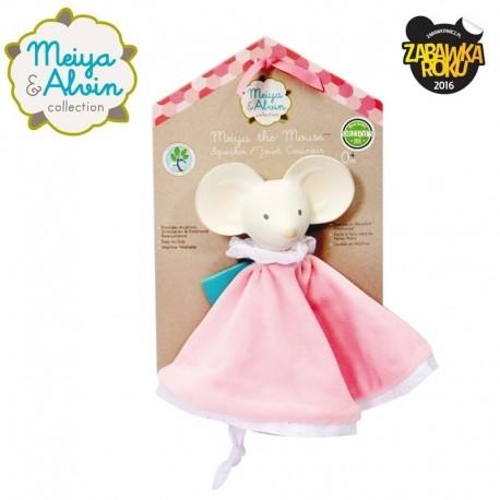 Meiya & Alvin - Meiya Mouse Snuggly Comforter with Organic Teether Head