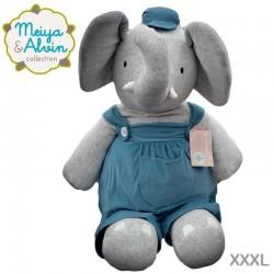 Meiya & Alvin - Alvin Elephant Cuddly Doll XXXL
