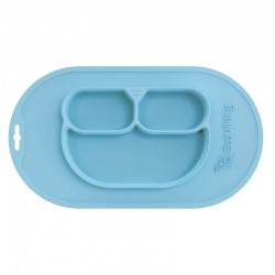 Eco Viking BLW 4 in 1 Eating Helper Owl Arctic Blue